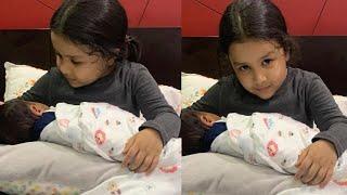 Ziva Dhoni CUTEST moment with Hardik Pandya son..