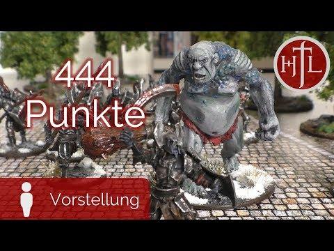 Armeevorstellung Olli - 444 Punkte (Mittelerde Tabletop / Hobbit / Herr der Ringe / HdR)