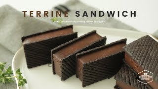 초콜릿 테린느 샌드 쿠키 만들기 : Chocolate Terrine Sandwich Cookies Recipe - Cooking tree 쿠킹트리*Cooking ASMR