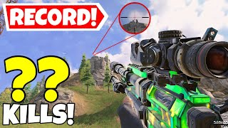 WORLD RECORD LONG RANGE DOUBLE SNIPES IN CALL OF DUTY MOBILE BATTLE ROYALE!
