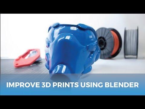 MatterHackers Minute // How One Man Improves 3D Prints Using Blender