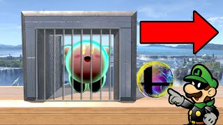 Super Smash Bros. Ultimate - Who Can Escape Prison Using A Final Smash?