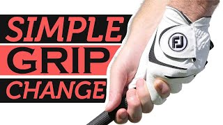 Simple Grip Change to Stop Your Slice