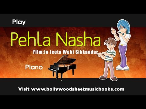 Piano pehla nasha piano chords : Pehla Nasha - JungleKey.in Image #50