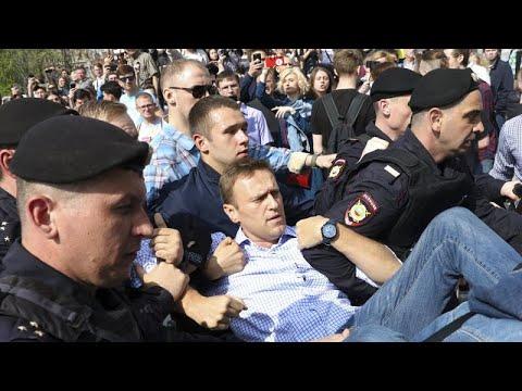 El Kremlin cerca a los seguidores de Navalni