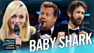 The Biggest 'Baby Shark' Ever w/ Sophie Turner & Josh Groban