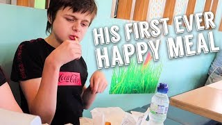 Picky Eater's First Ever Happy Meal on Skegness Day Out | Autism Family Vlog