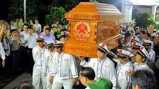 Xúc động giây phút di quan linh cữu Cố thủ tướng Phan Văn Khải
