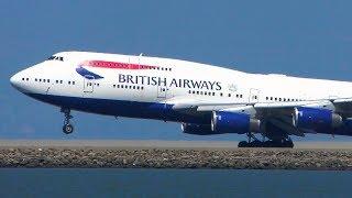 ALL 10 Boeing 747 OPERATORS Landing at SFO | San Francisco Plane Spotting