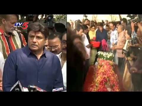 Nandamuri Balakrishna Deep Condolence to Kodi Ramakrishna | TV5 News