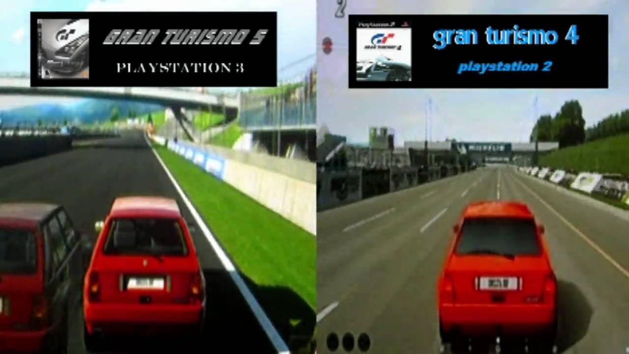 Gran turismo 5 prologue vs Gran turismo 4 Graphics ...