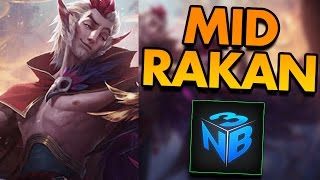 RAKAN MID WITH NIGHTBLUE3! - PBE League of Legends Commentary