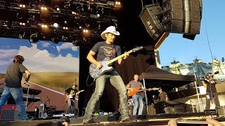 Brad Paisley Live -  Intro to  - Weekend Warrior Tour - Last time for everything, Purple Rain