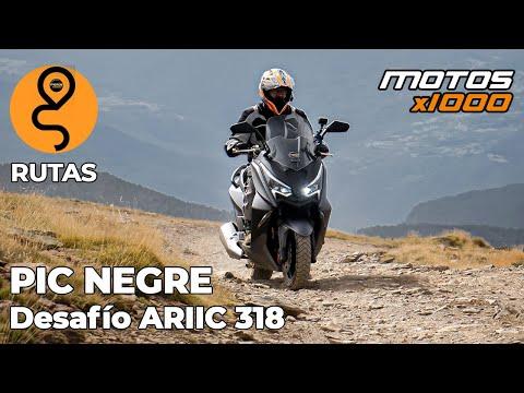 Desafío Pic Negre con la Ariic 318 | Motosx1000