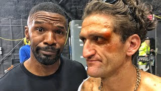 JAMIE FOXX GAVE ME A BLACK EYE