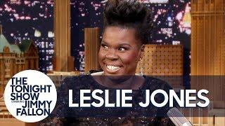 Leslie Jones Roasts Her Old Headshots