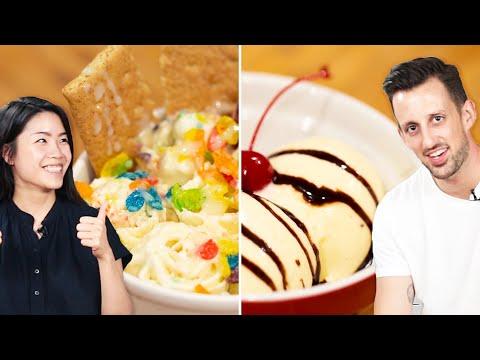 Trendy Vs. Traditional: Ice Cream ? Tasty