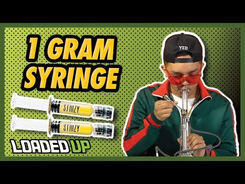 1 Gram Stiiizy Distillate Syringe | Loaded Up