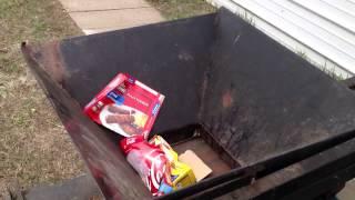 Can baler/Trash compactor