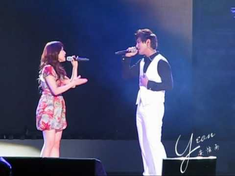 [HQ][CLOSE-UP] 2010.07.24 Kangta Beijing Concert - Zhang Li Yin Jang Ri In 7989