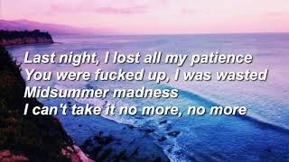 midsummer madness lyrics - 88rising