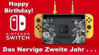 Ein Blick zurück: Mein zweites Jahr mit der Nintendo Switch