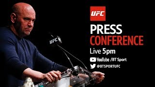 UFC press conference: Dana White, Ben Askren, Rose Namajunas and more