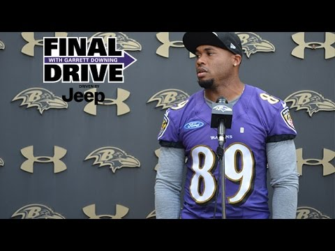 Steve Smith Gets Choked Up In Powerful Press Conference  | Final Drive | Baltimore Ravens