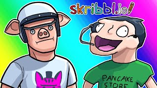 Skribbl.io Funny Moments - Unibrow or Skateboard?