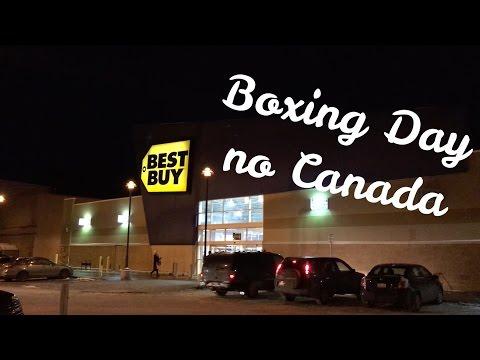 Partiu Canada - Café da manhã, compras, Boxing Day