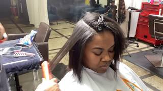 Hair Styling Flatiron w/ Eap Heat Flat Iron Review