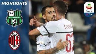 Sassuolo 1-4 AC Milan | Suso Bags a Brace as AC Milan Thrash Sassuolo | Serie A