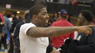 YFN Lucci VS Hitman Holla Bet $20,000 in Basketball At CIAA Charlotte