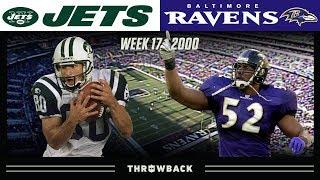 MAJOR Playoff Implications! (Jets vs. Ravens 2000, Week 17)