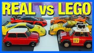 Forza Horizon 4 : LEGO vs REAL CARS!!