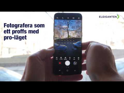 Design och funktioner på Samsung Galaxy S8/S8+