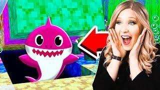 I Found Baby Shark's GIRLFRIEND in MINECRAFT!