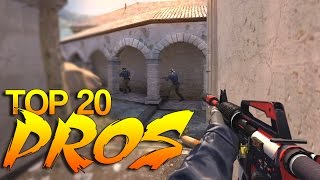 CS:GO - PRO Players of 2015 (Top 20) - YouTube