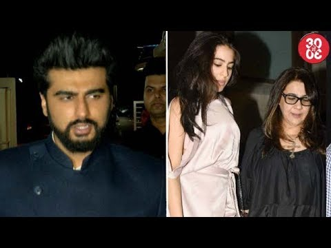 Arjun Kapoor's Take On Nepotism | Amrita Restricts Sara From Dating Any Bollywood Star