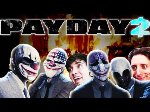 DOING SOME CRIME! - Payday 2 W/ ProJared + Crew!