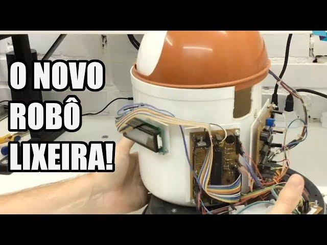 O QUE VAMOS MUDAR NO ROBÔ LIXEIRA?! | Usina Robots US-3 #013