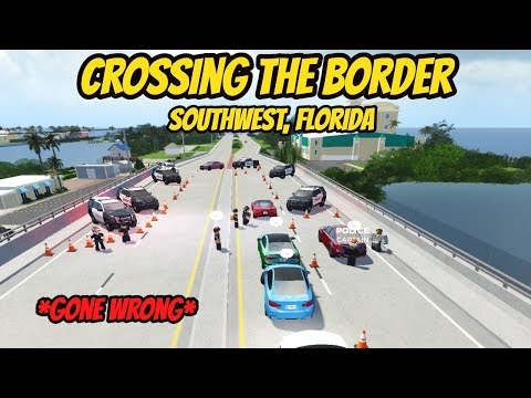 Southwest, Florida Roblox l HUGE Border Crossing Rp *TRAFFIC JAM*