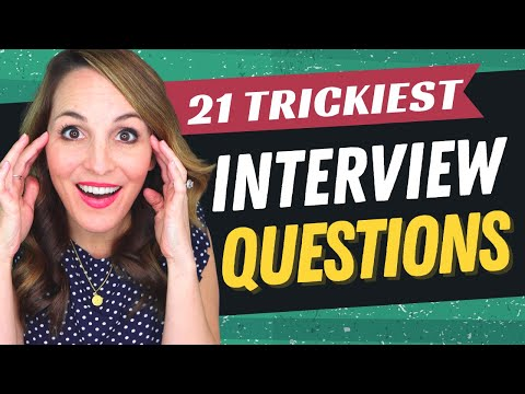TOP 21 Interview Questions And How To Answer Them (2021 EDITION!) photo