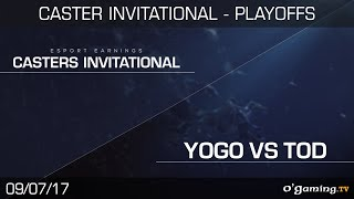 Yogo vs TOD - EsportsEarnings Casters Invitational - Playoffs  - Final - Starcraft 2