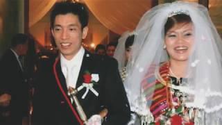 Happy 10th Wedding Anniversary~John N'Lam La Seng+N'La Kaw Bu