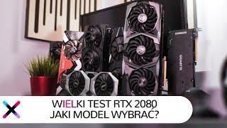 Wielkie porównanie GeForce RTX 2080 | Jakiego RTX 2080 wybrać?
