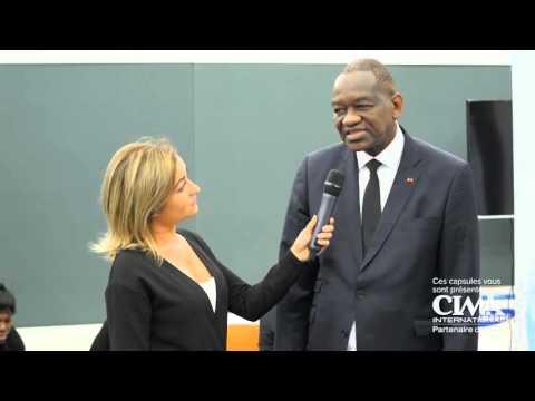 Interview du ministre des transports de la Côte d'Ivoire Mr Gaoussou Touré