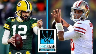 Packers vs. 49ers: How will Rodgers attack the 49ers' defense? | Chris Simms Unbuttoned | NBC Sports
