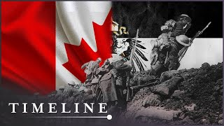 When The Combined Canadian Corps Fought The Germans  | Battle Of Vimy Ridge | Timeline