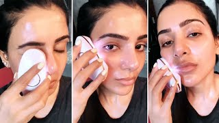 Samantha Akkineni shares glimpse of her grooming session..